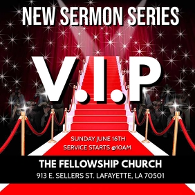 VIP RED CARPET CHURCH SERMON