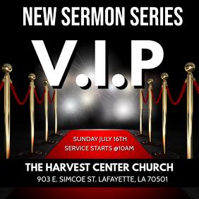 VIP RED CARPET CHURCH SERMON