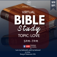 Virtual Bible Study Square (1:1) template