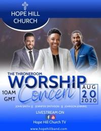 Virtual Concert Flyer Video template