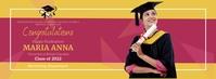 Virtual Graduation Party Фотография обложки профиля Facebook template