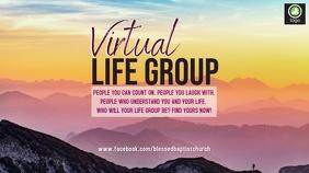 Virtual LIFE Group Digital Display (16:9) template