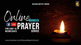 Virtual Prayer FB Live Digital Display (16:9) template