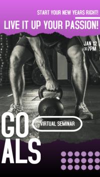 Virtual Seminar Instagram Stories Ad template