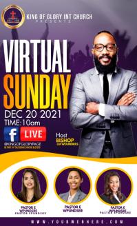 Virtual Sunday service US Legal template