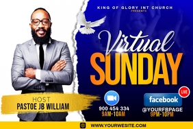 virtual Sunday service