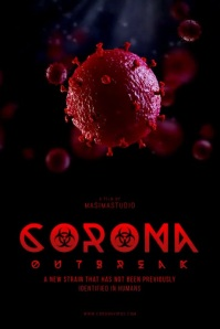 Virus Outbreak Movie Poster Template