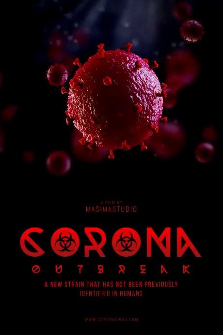 Virus Outbreak Movie Poster Template