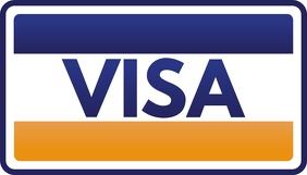 Visa นามบัตร template