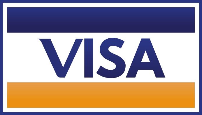 Visa Tarjeta de Presentación template