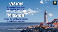 vision and mission lighthouse video Digitale Vertoning (16:9) template