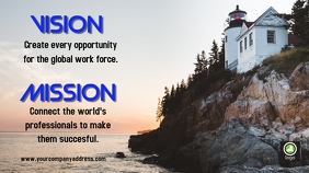 vision and mission poster