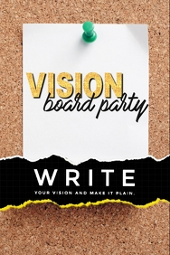 Vision Board Backdrop