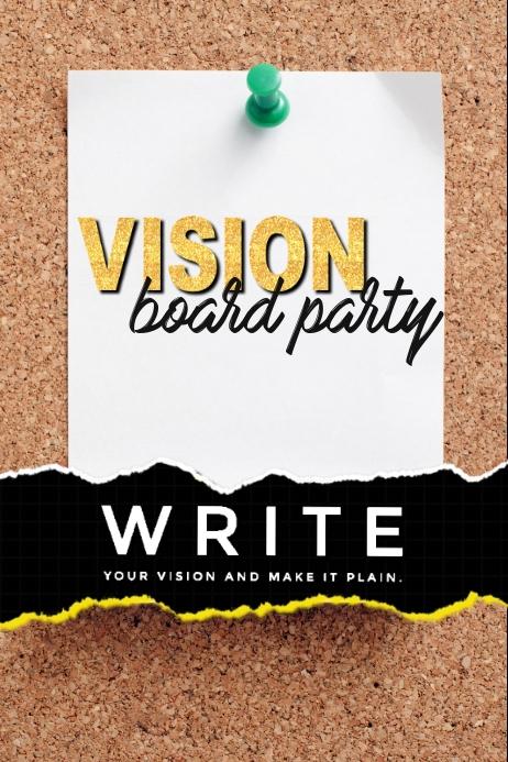 Vision Board Backdrop