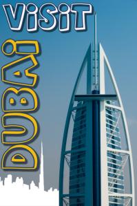 VISIT DUBAI poster
