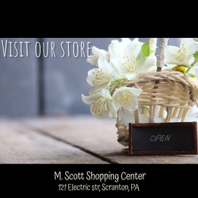 Visit Our Store Video ad
