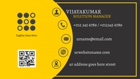 business cards 名片 template