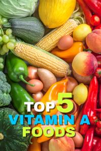 Vitamin A rich foods Pinterest Grafieka template