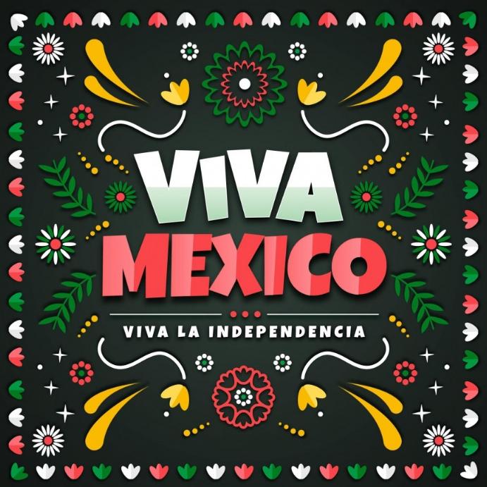 Viva Mexico Template Instagram-bericht