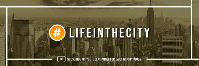 Vlog Subscription Email Header 电子邮件标题 template