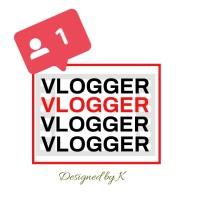 Vlogger Logo template