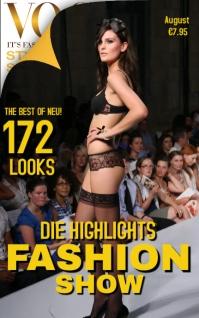 Vogue Fashion Show Magazine Cover