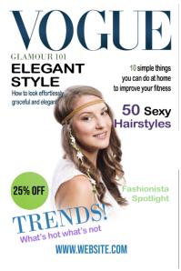 Vogue Fitness Magazine Cover