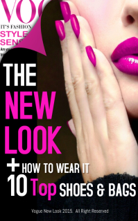 Vogue New Fashion Magazine Cover