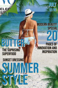Vogue Summer Style Magazine Cover