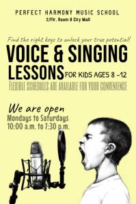 voice lesson template