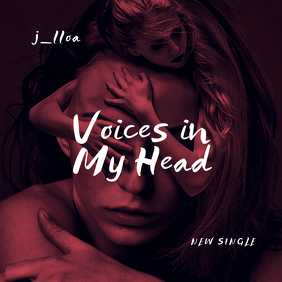 Voices in my head CD Cover Template