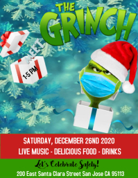 Volante The Grinch Flyer (US-Letter) template