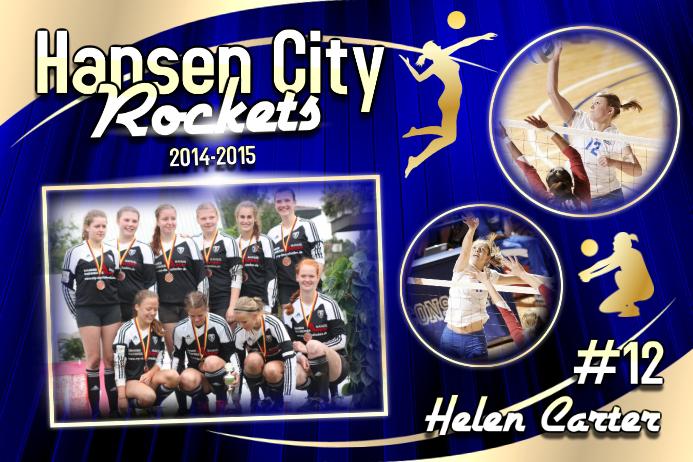Volleyball Poster Template Cartaz