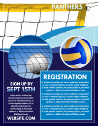 volleyball poster templates postermywall