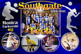 Volleyball Poster Template โปสเตอร์