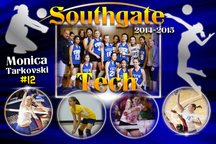 Volleyball Poster Template