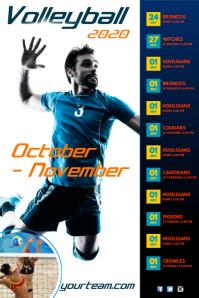 Volleyball Team Schedule