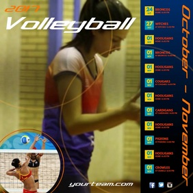Volleyball Team Schedule