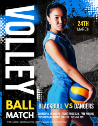 volleyball template, sports, volleyball flyer