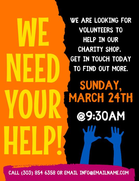 Volunteer Flyer