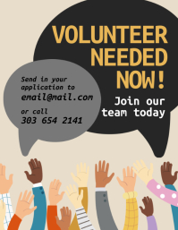 Volunteer Needed Flyer