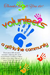 Volunteers - thanks for all You do