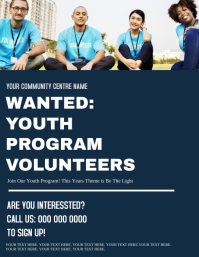 Volunteers Needed ad Flyer Template