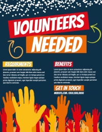 90 customizable design templates for volunteer postermywall