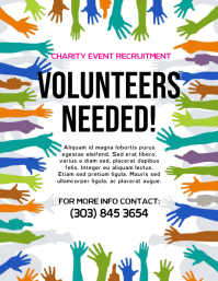 Volunteers Needed Flyer