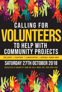 Volunteers Needed Poster