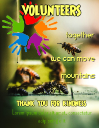 Volunteers - together