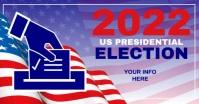VOTE 2021 Election Flyer Templates Obraz udostępniany na Facebooku