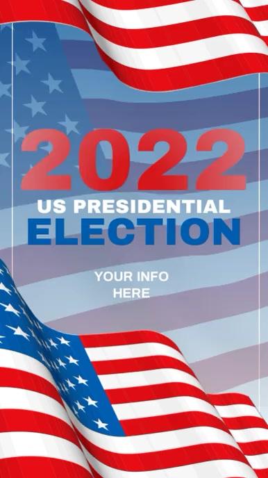 VOTE 2021 Election Instagram Video Templates