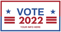 VOTE 2021 Flyer Templates